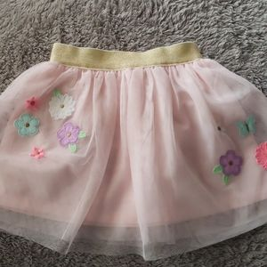Pink skirt for baby girl